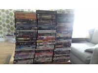 90 + dvds for sale + 6 box sets and about 8 blue rays