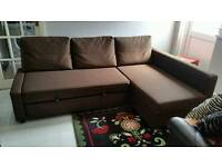 Beautiful Brown Sofa Bed. Excellent Condition.Only £300 *Free Delivery & Free assembly*