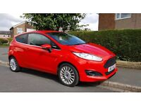 Ford Fiesta EcoBoost, Hatchback, 13 plate, Petrol, Manual