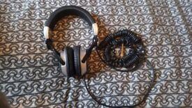 Technics RP DJ 1210 PRO DJ Headphones! Used but great condition