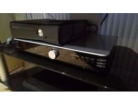 acoustic solutions hifi stereo amplifier with remote