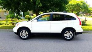 2011 Honda CRV EX-L P.leather Seats,P.Sunroof,Clean Carproof,Cer