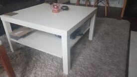 White square coffe table!
