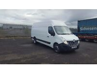 2015-15 plate renault master 165-45L4 H3 4.5 ton gross extra lwb high roof van ideal snack vans