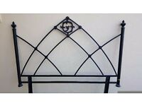 Gothic Metal Headboard for Double Bed