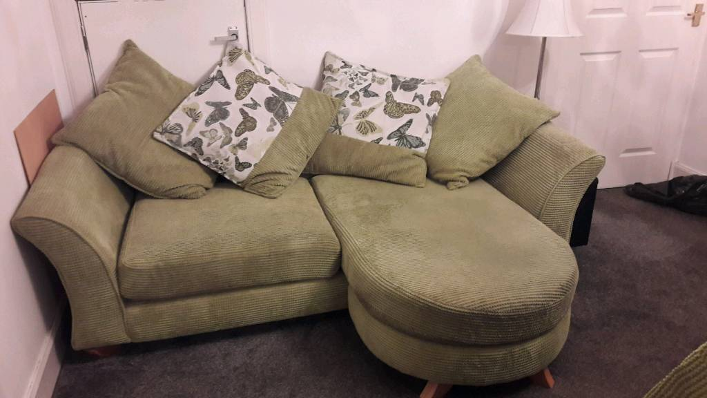 2 lime green sofa / loungers