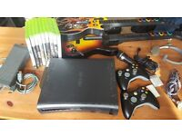 Xbox 360 Black + 9 Games Bundle