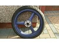 Zx6f front wheel