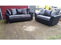BUY ELLA 3 SEATER £349 PLUS 2 SEATER FREE !!! BRAND NEW HAND MADE SOFA CRAZY PRICE AMAZING QUALITY