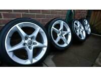 "Vauxhall 18"" Penta ""Ronal"" alloy wheels 5x110 Astra Zafira Vectra Signum Saab etc"