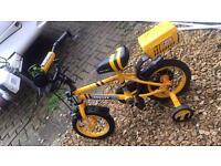Kids digby apollo 12 inch bike