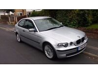 Bmw e46 316ti se 1.8lt 71,000 4 owners 12 month MOT Leather Seats