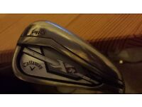 Callaway XR Pro 4-PW irons KBS V90 Stiff, excellent con, awesome easy to hit & very long