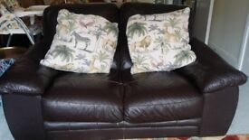 £30 Leather Sofa for Sale
