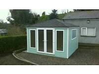 New garden room home office summer house she shed