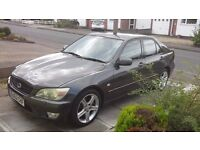 LEXUS IS 200 AUTO 52 PLATE ONLY 2 KEEPERS FROM NEW