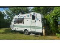 """Cotswold 'Windrush' 2 berth, in """"time warp"""" condition. £1,195 ono"""