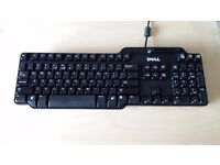 DELL USB Keyboard with Smart Card Reader SLIM: US Layout
