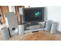 TV, Panasonic DVD home theatre system