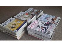 81 issues of 25 Beautiful Homes magazine
