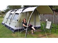 Outwell Bear Lake 4 tent package