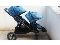 Baby Jogger city select double pushchair pram