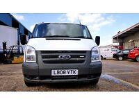 Finance -£126p/m-Ford Transit Van 2.2 300 SWB Low Roof-1 Owner XBT-FSH -39k-1Yr MOT-Warranty 260 280