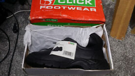 Safety Boots, never worn, size uk 12, eur 47