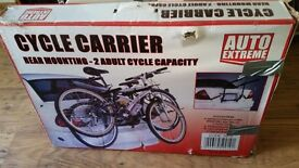 Two bike cycle carrier