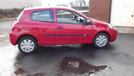 Renault Clio Extreme, One Owner, only 12,000 miles, one years MOT, Two Door, just serviced