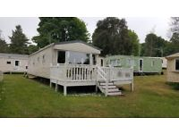 2014 ABI Elegance 2 bed 6 Berth static caravan with wrap around deck and ramp access