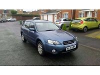 2006 SUBARU OUTBACK 2.5 4X4 ESTATE 1 OWNER FULL SERVICE HISTORY NO FAULTS