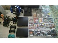 2 Playstation 3s megaa bundle