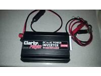 Clarke 300watt power inverter with usb