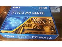 Brand New - Z170A PC MATE - Motherboard