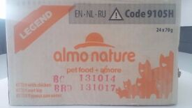 24x Tins Almo Nature Legend Kitten Food (or underweight cat) - Less than half price!