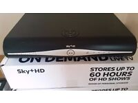 SKY box DRX890W good condition boxed with remote and card