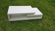 Coffee Table White Timber Modern style Burwood Burwood Area Preview