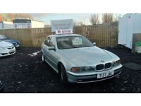 1999 T REG BMW 520i MOT JULY LOW MILEAGE GREAT DRIVER £595