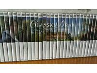 Classic Drama DVD collection 67 DVDs and magazines, perfect for Poldark and Downton Abbey etc fans