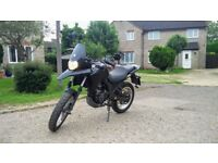 Derbi Terra 125cc - 3600 miles from new, 1 previous owner, learner legal, minor cosmetic damages