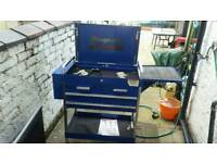Blue point tool trolley