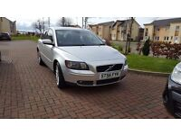 Volvo S40 2.0D SE 2006 , 6 speed diesel manual with Full Service History