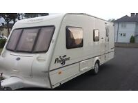 "4 BERTH BAILEY PAGEANT 2004. NICE ""L"" LOUNGE. END BATHROOM / DRESSING ROOM. SEPARATE SHOWER. BARGAIN"