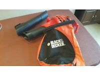 Black & Decker Garden Vacuum & Leaf Blower - Fully Working - London