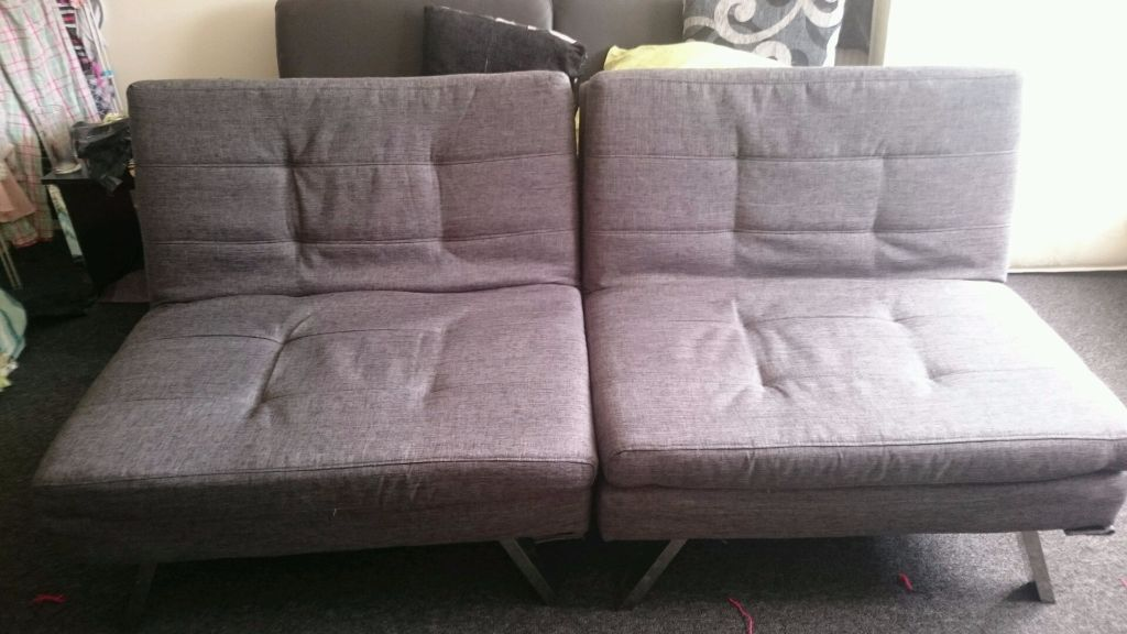 duo clic clac sofa bed in southton hshire gumtree