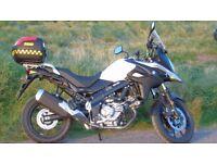 SUZUKI V STROM 650cc - AL7 - White - 2017