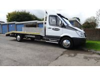 Mercedes 313 CDI recovery truck