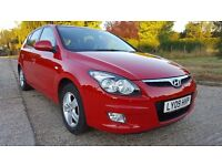 2009 Hyundai i30 1.4 Comfort 5dr 1 Owner Full Service History New MOT HPI Clear