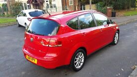 2011 seat altea xl 1.6 tdi-70K-5 DR-LONG MOT-VERY GOOD AND CLEAN CONDITION